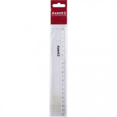 Лінійка Axent пластикова 20 см Прозора (7320-A)
