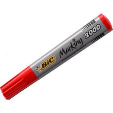 Маркер перманентний BIC 2000 ECO 1.7 мм Червоний (bc8209133)