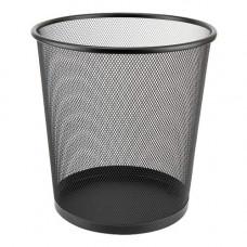 Металевий кошик для паперів Axent круглий 12 л Чорний (2119-01-A)