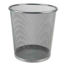 Металевий кошик для паперів Axent круглий 12 л Сріблястий (2119-03-A)