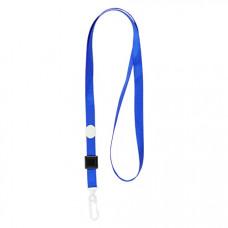 Мотузка для бейджа з карабіном Axent Синя (4531-02-A)