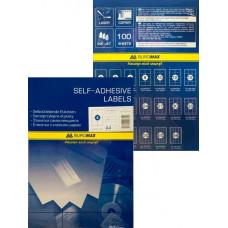 Набір етикеток самоклеючих Buromax 100 аркушів 105х148.5 мм (BM.2816)