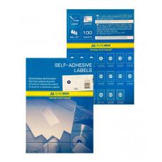 Набір етикеток самоклеючих Buromax 100 аркушів 105x74 мм (BM.2819)
