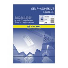 Набір етикеток самоклеючих Buromax 100 аркушів 70х67.7 мм (BM.2828)