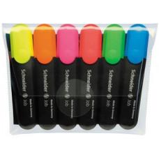 Набір текстових маркерів Schneider 6 шт. (S115096)
