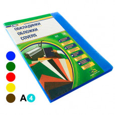 Обкладинка прозора D&A А4 180 мкм 100 шт Асорті (1220102020100)