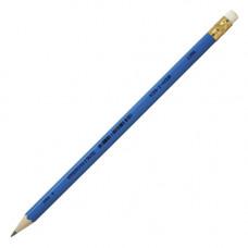 Олівець чорнографітний Koh-i-Noor HB з гумкою Різнокольоровий (1396)