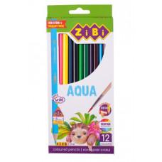Олівці кольорові акварельні ZiBi Kids Line 12 кольорів (ZB.2475)