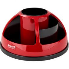 Пластикова підставка-органайзер для приладдя Axent Червона (2204-04-A)