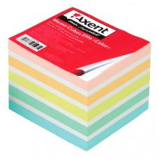 Папір для нотаток Axent Elite Color Непроклеєний 90х90 мм 740 аркушів Кольоровий (8028-A)