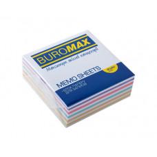 Папір для нотаток Buromax Проклеєний 80х80 мм 400 аркушів Зебра (BM.2252)