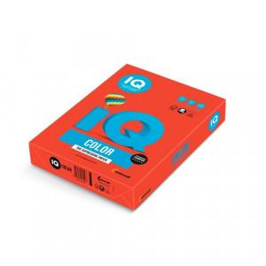 Папір кольоровий IQ Color A4 160 г/м2 250 аркушів Коралово-червоний (CO44/A4/160/IQ)