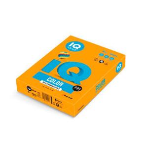 Папір кольоровий IQ Color A4 80г/м2 500 аркушів Мандариновий (MO15/A4/80/IQ)