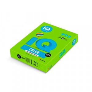Папір кольоровий IQ Color A4 160 г/м2 250 аркушів Яскраво-зелений (MA42/A4/160/IQ)