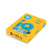 Папір кольоровий IQ Color A4 160 г/м2 250 аркушів Сонячно-жовтий (SY40/A4/160/IQ)