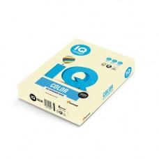 Папір кольоровий IQ Color A4 80 г/м2 500 аркушів Ванільно-бежевий (BE66/A4/80/IQ)