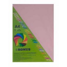 Папір кольоровий Romus A4 80 г/м2 100 аркушів Рожевий фламінго (R50591)