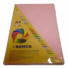 Папір кольоровий Romus A4 80 г/м2 100 аркушів Рожевий (R50614)