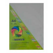 Папір кольоровий Romus A4 80 г/м2 100 аркушів Сірий (R51093)