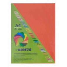 Папір кольоровий Romus A4 80 г/м2 100 аркушів Цегляно-червоний (R51130)