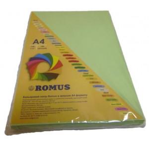 Папір кольоровий Romus A4 80 г/м2 100 аркушів Зелений (R50034)