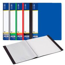Папка пластикова Economix A4 30 файлів Асорті (E30603)
