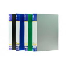 Папка пластикова Economix A4 40 файлів Асорті (E30604)