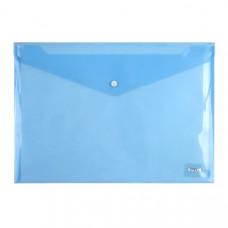 Папка-конверт на кнопці Axent А4 Синя (1402-22-A)