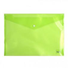 Папка-конверт на кнопці Axent A4 Зелена (1402-25-A)