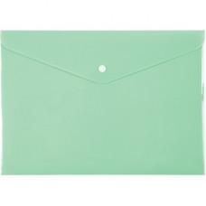 Папка-конверт на кнопці Axent Pastelini A4 Неом'ята (1412-09-A)