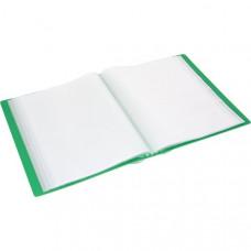 Папка пластикова Romus A4 10 файлів Зелена (R205036)