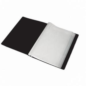 Папка пластикова Romus A4 20 файлів Чорна (R206019)