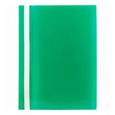 Папка-швидкозшивач Axent A4 з прозорим верхом без перфорації Зелена (1317-25-A)