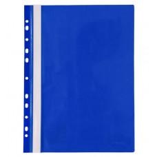 Папка-швидкозшивач Axent A4 з прозорим верхом з перфорацією Синя (1318-02-A)