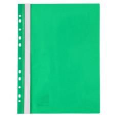 Папка-швидкозшивач Axent A4 з прозорим верхом з перфорацією Зелена (1318-25-A)