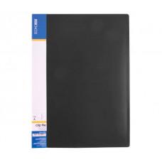 Папка-швидкозшивач Economix A4 Clip A Чорна (E31201-01)