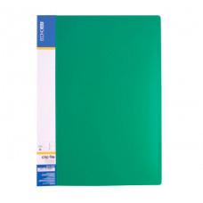 Папка-швидкозшивач Economix A4 Clip A Зелена (E31201-04)