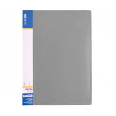 Папка-швидкозшивач Economix A4 Clip A Сіра (E31201-10)