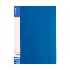 Папка-швидкозшивач Economix A4 Clip A Синя (E31201-02)