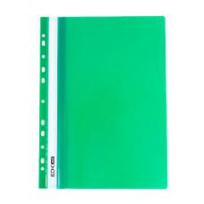 Папка-швидкозшивач Economix A4 з прозорим верхом з перфорацією Зелена (E31510-04)