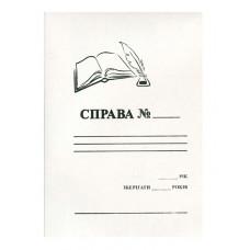Папка швидкозшивач картонна 420 г (44322)