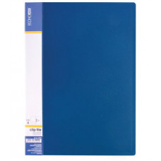 Папка з притиском Economix A4 Синя (E31202-02)