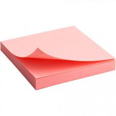 Папір для нотаток Axent з клейким шаром 75х75 мм 100 аркушів Рожевий (2314-03-A)