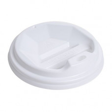 Кришка для стакана фігурна 79 мм 50 шт. Біла (ПЛ-79 біл)