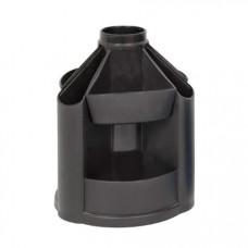 Пластикова підставка-органайзер КІП обертальна Чорна (OB41черн.)
