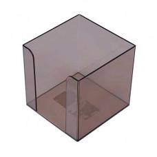 Пластиковий бокс для паперу Арніка 90х90х90 мм Димчастий (83031)