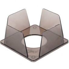 Пластиковий бокс для паперу КІП 90х90х45 мм Димчастий (BOKSKIPдым)