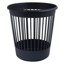 Пластиковий кошик для паперів Арніка круглий 10 л Чорний (82061)