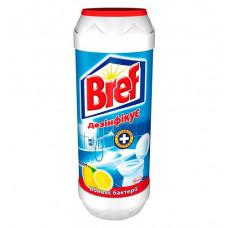 Порошок для чищення ванної кімнати Bref лимон+хлор 500 г (45845)