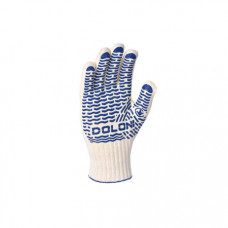 Робочі рукавиці Doloni 621 з ПВХ 10 клас 2 шт (621)